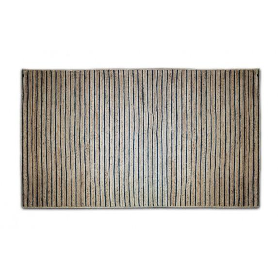 ALFOMBRA NATURAL AZUL 160X230