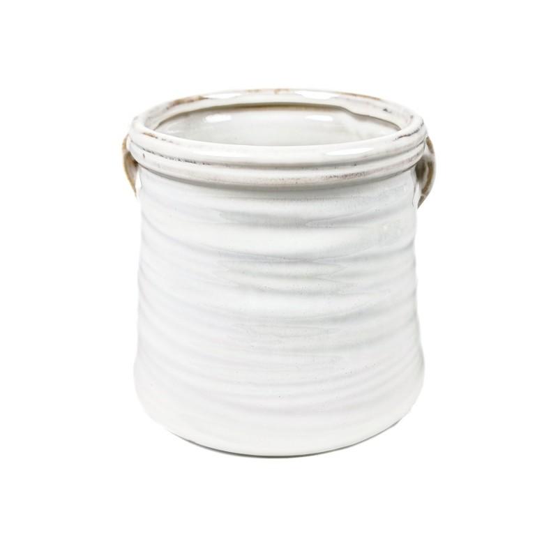 SAKARI WHITE MACETA S 9-12CM