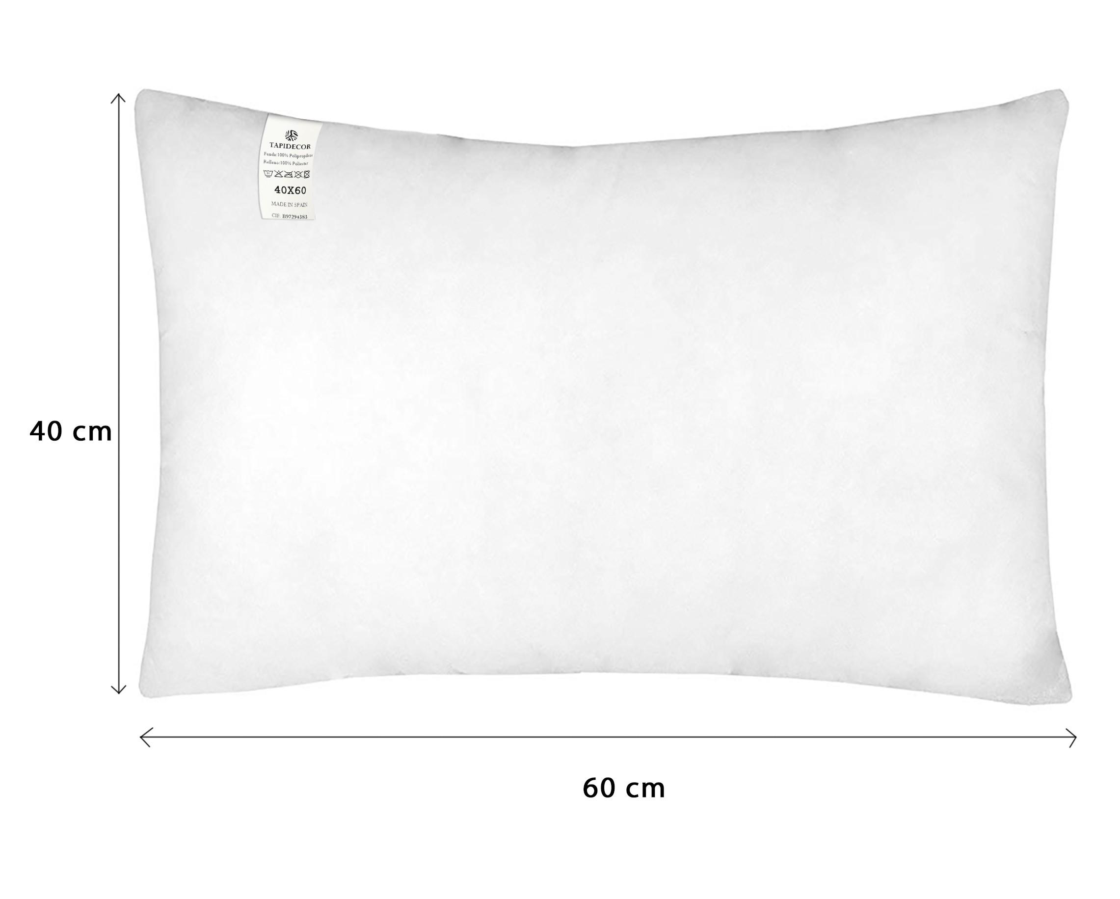 Antibacteriano y Transpirable tapidecor Relleno de Coj/ín Fibra 100/% Poli/éster Reciclado - 35 X 35 Fibra