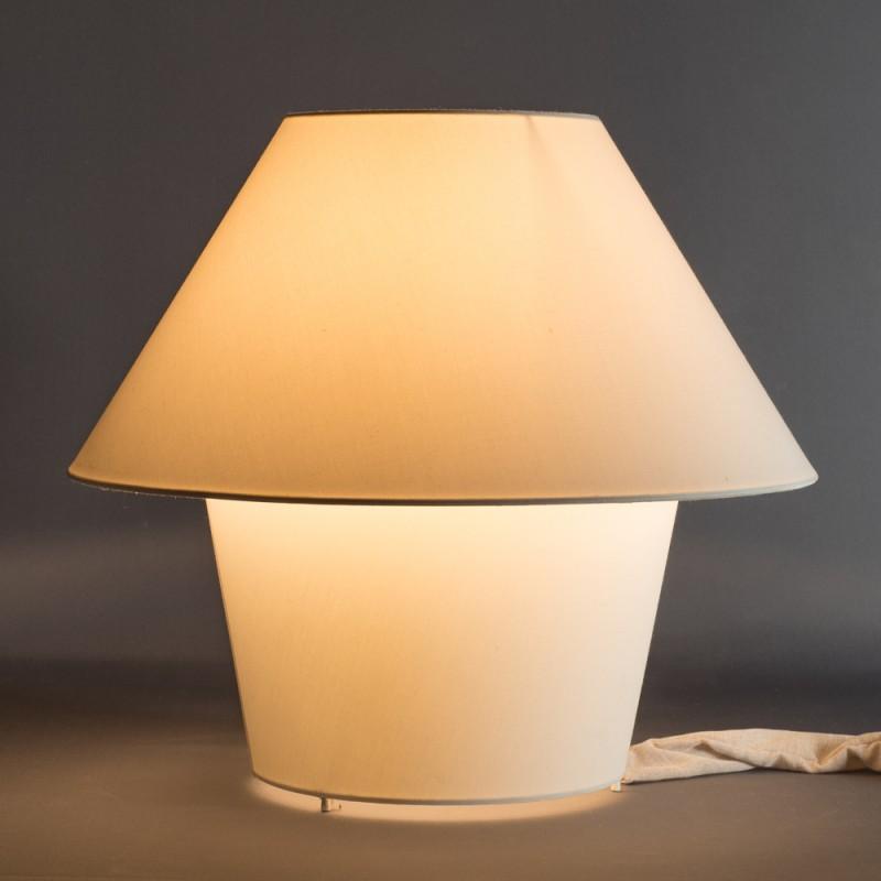 LAMPARA DE MESA VERSUS INTERIO R BLANCA 50X24X45