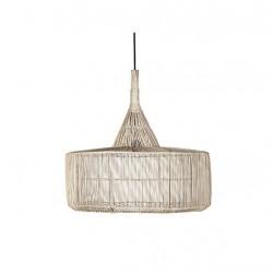 LAMPARA TECHO RATTAN CILINDRO 57X57X50