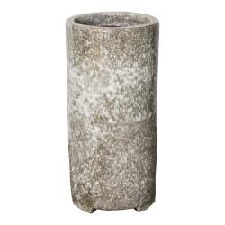 MACETA FAYLIN WHITE CERAMIC 35 X 70 CM