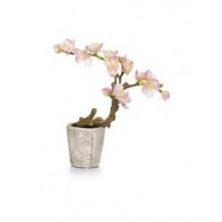Planta artificial exterior interior bola Eucaliptus maceta 25 cm