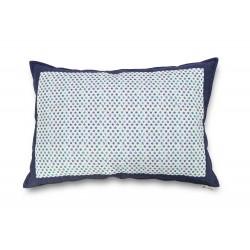 Funda cojín 70X50 Azul estrellas dormitorio, cama sofá, relleno no incluido | Blue Stars