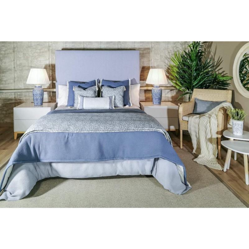 Conjunto Textil Ropa Cama Liberty Blue