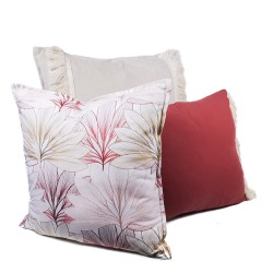 Pack textil 3 fundas cojín, Red Garden