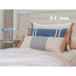Pack 3 Fundas Cojín dormitorio | Azur Sense