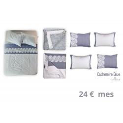 CTO COMPLETO CACHEMIR BLUE CAMA 135-150X200