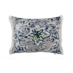 Funda cojín 50X50 azul gris sofá, cama, sillón AZUL GRIS PESTAÑA MIN. SOFT BG