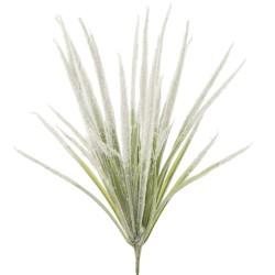 Rama manojo hierba artificial 14x39 verde nevado, mínimo 3 uds.
