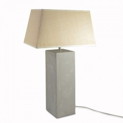 BASES LAMPARA MARMOL GRIS 51X15