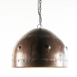 LAMPARA DE TECHO COLGANTE HIER RO LATON COBRE 38X25 CASCO