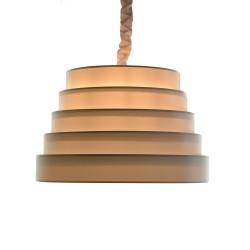 LAMPARA DE TECHO COLGANTE PLAN ETARIO CIRCULAR 60X90 BLANCO R
