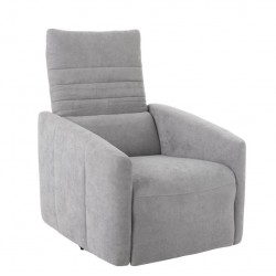 SILLON RELAX 1P LINO GRIS 76X82X100