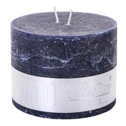 RUSTIC NIGHT BLUE BLOCK CANDLE