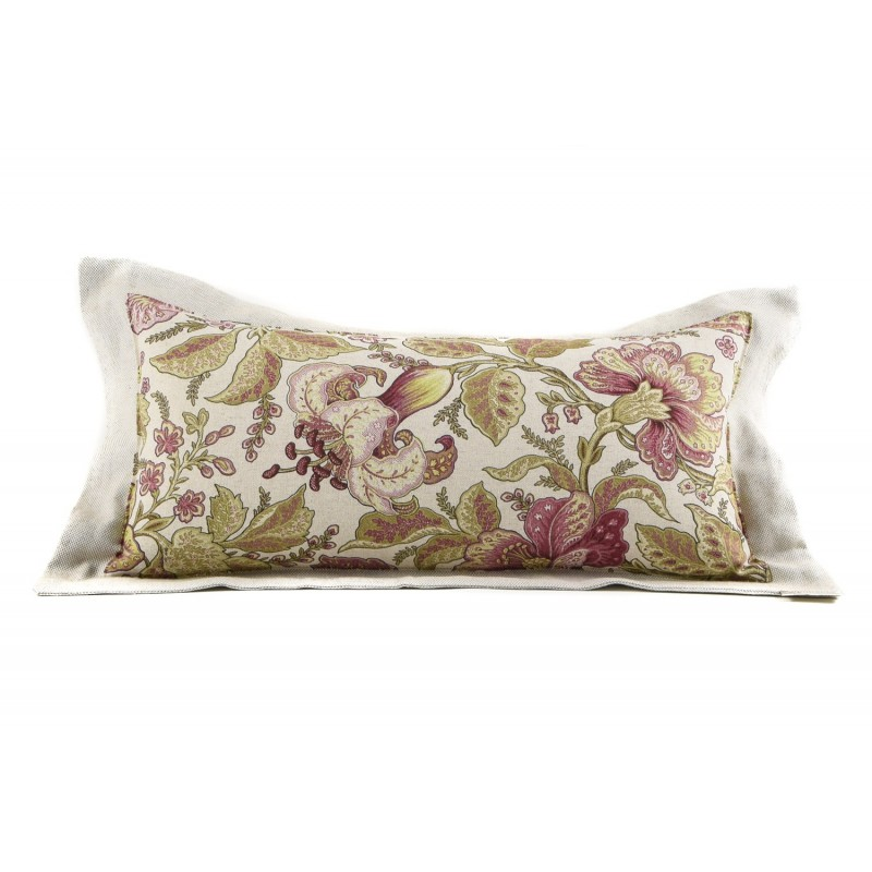 "PLAID MANTA PIE DE CAMA MALVA 90X230 ""WILD FLOWERS"""